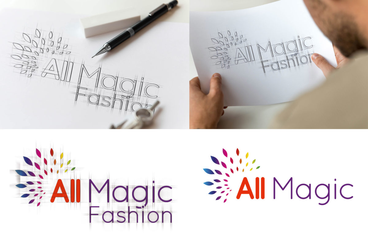 Criação de nome e logotipo